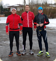 Carsten, Matthias und Jens am Sen See